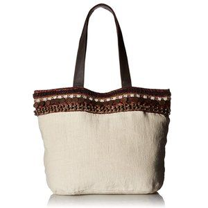 Ale by Alessandra Linen Cleopatra Tote - NWT